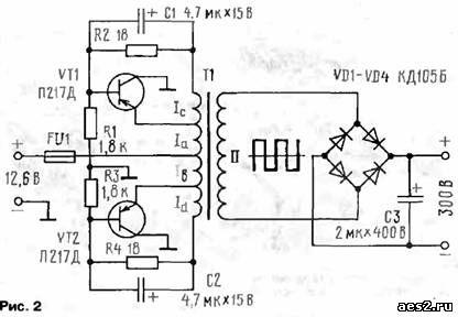 схемы радиолюбительских устройств