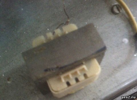 Трансформатор в простой электрошокер
