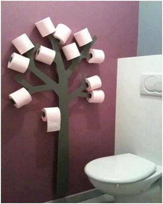Вешалка для туалетной бумаги
