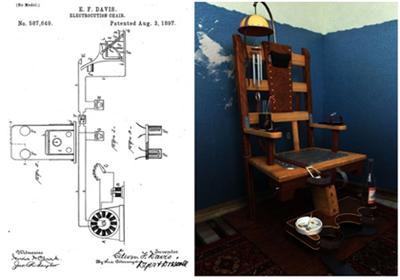 Как выглядит первый электрический стул в мире