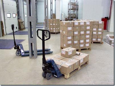 тележка для перевозки грузов на поддонах