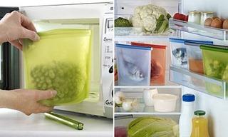 силиконовый пакет для хранения продуктов