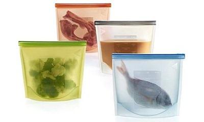 силиконовый пакет для хранения блюд