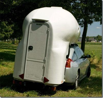 съемный автомобильный туалет