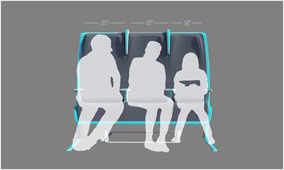 Самолетные сиденья Morph – во время полета каждый сможет разместиться в них удобно