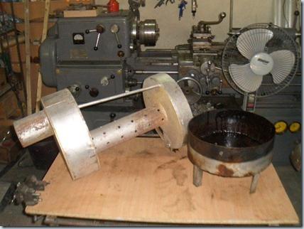затем мы разобрали мотор