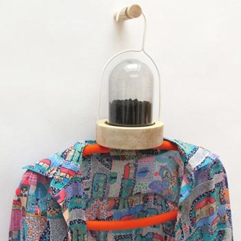 так будет смотреться одежда на вешалке