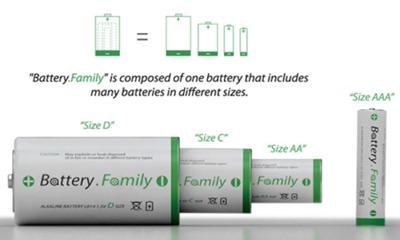 батарейка 4 в 1