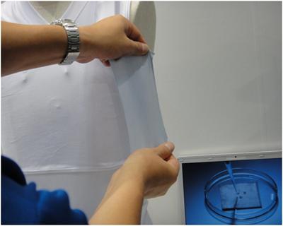 Контролировать частоту сердцебиения просто в майке со встроенными текстильными электродами