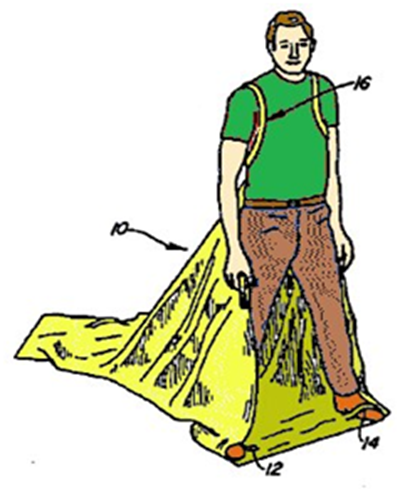 Мешок-ранец, чтобы собирать мусор