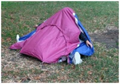 Кроссовки-палатка