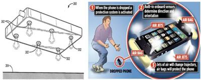 Устройство, защищающее телефон при падении