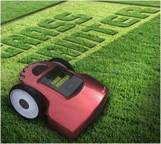газонокосилка Grass Printer