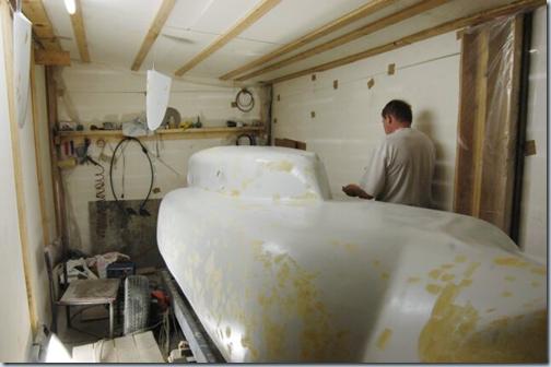 производство лодки