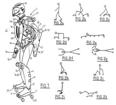 Костюм для роллера, который хотел бы, чтобы в катания участвовал каждый сантиметр его тела