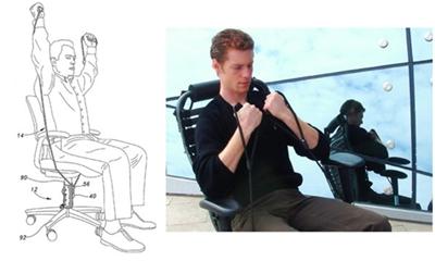 Как накачать мышцы, не вставая с офисного кресла