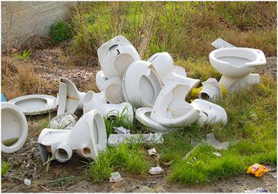 керамические отходы