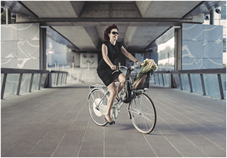 FlyKly Smart Wheel – крутите педали, не напрягаясь