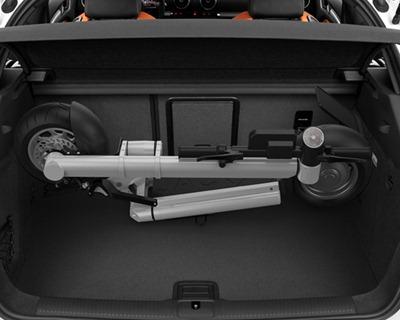 устройство без проблем помещается в багажник