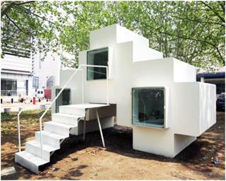 Тетрисоподобные микродама решат жилищный вопрос на раз-два-три