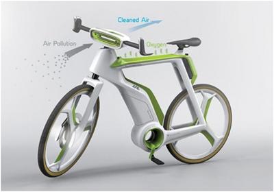Air Purifier Bike