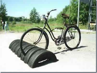 использование старых шин