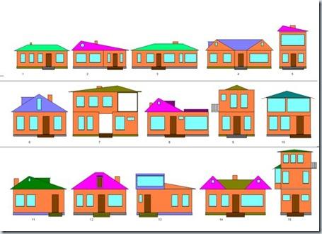 дома разные