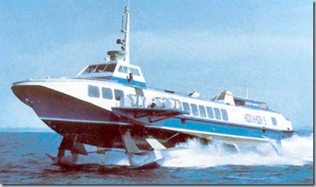 судно на подводных крыльях Алексеева