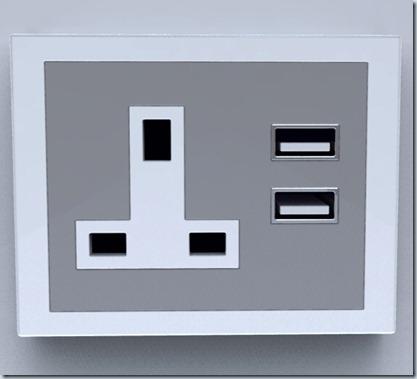 розетка с USB-портами