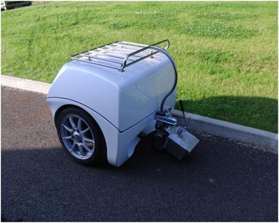 EP Tender – генератор-прицеп для электромобилей