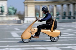 Складной скутер MOVEO
