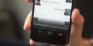 Minuum - новая клавиатура для сенсорных экранов