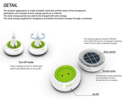 Outlet – розетка на солнечных батареях