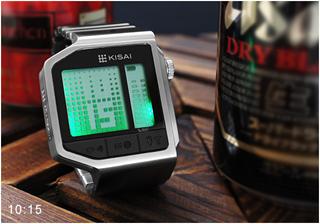 «Пить или не пить?» - на этот вопрос ответят часы-алкотестер Tokyoflash Kisai Intoxicated