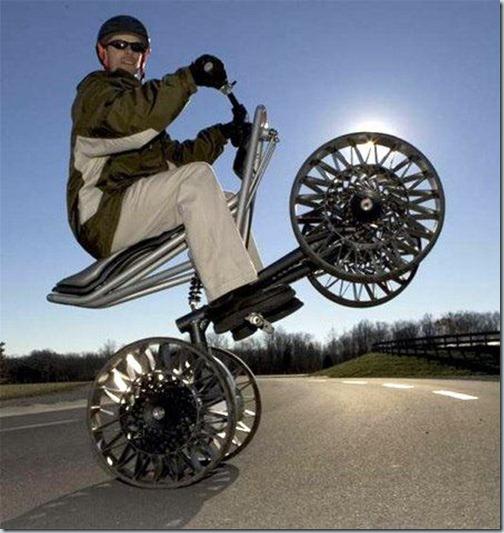 tweel на квадрацикле