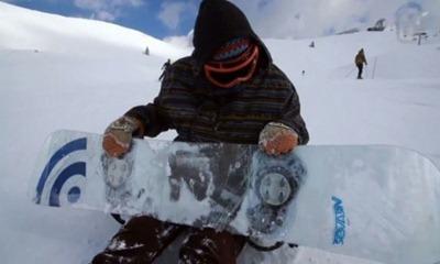 стеклянный сноуборд