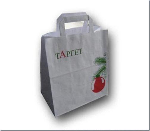 пакет с рекламой