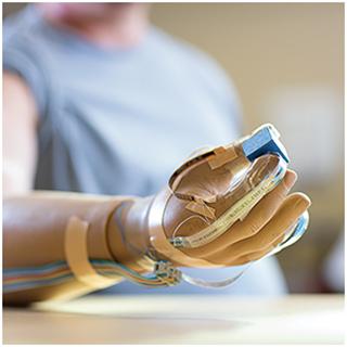 Благодаря новой технологии человек с протезом сможет чувствовать, что держит в руках, и рассчитывать силу