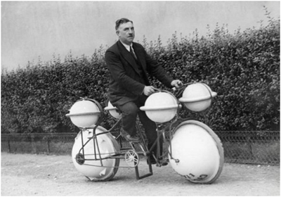 Велосипед-амфибия