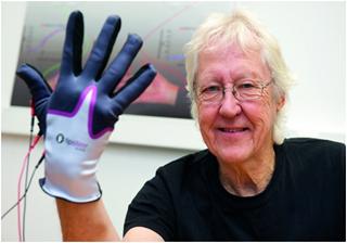 Перчатка, улучшающая чувство осязания у пожилых и тех, кто перенес инфаркт