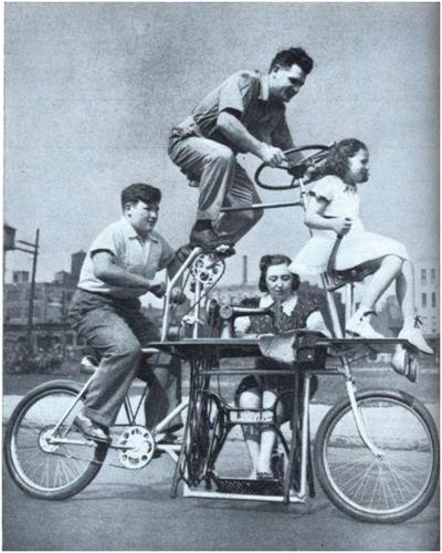 Велосипед, чтобы кататься всю семью
