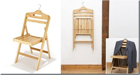 Оригинальная идея стула-вешалки