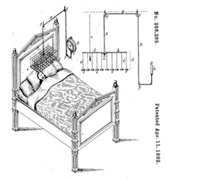 Модернизированный будильник конца 19 века