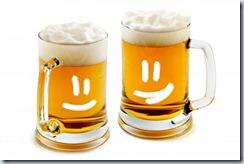 """даже бокалам нравятся, когда в них """"живое"""" пиво"""