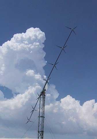 Один из примеров реализации ветроустановки