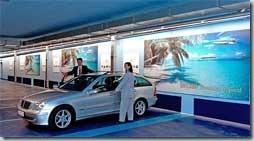 парковка с рекламой 2