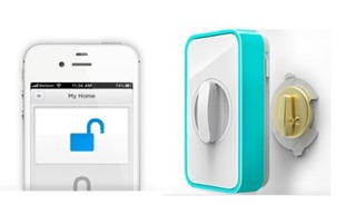 замковое устройство, управляемое iPhone